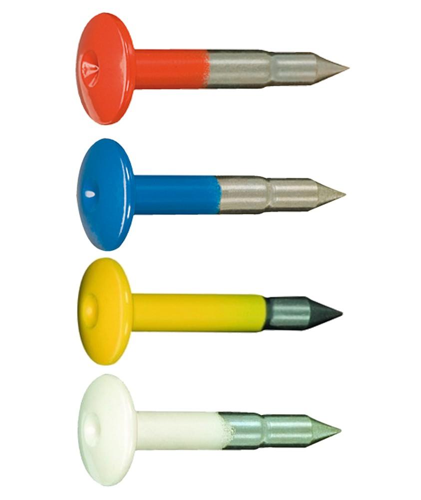Clou d'arpentage de couleur FENO 9X60