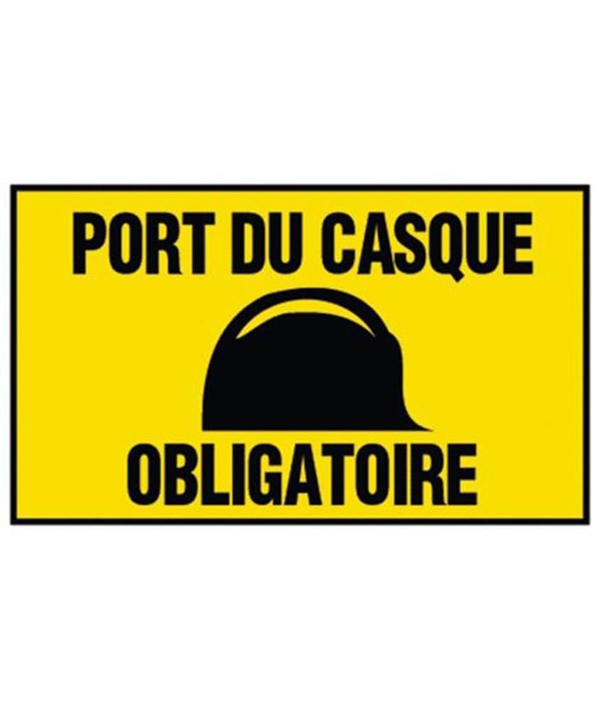 panneau port casque obligatoire 300X200mm NOVAP 4304342