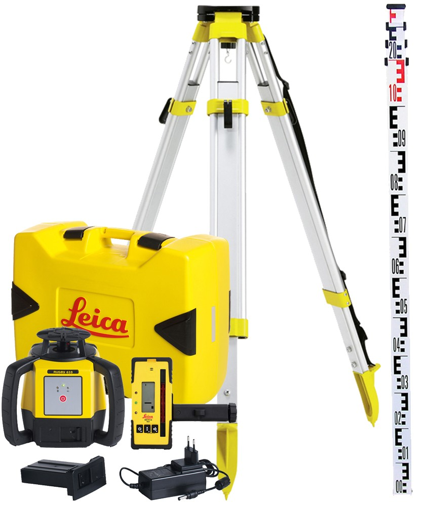 PACK Laser Leica RUGBY 610 6008615