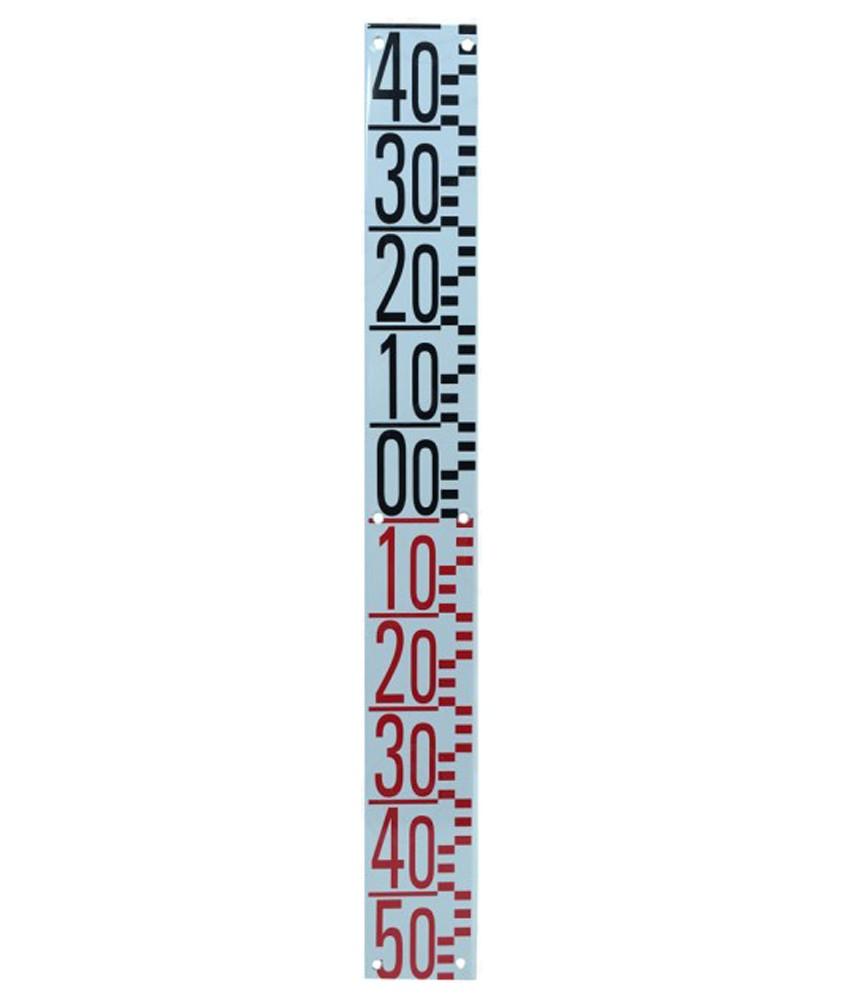 Echelle limnimétrique OTT de - 50 à + 40 cm