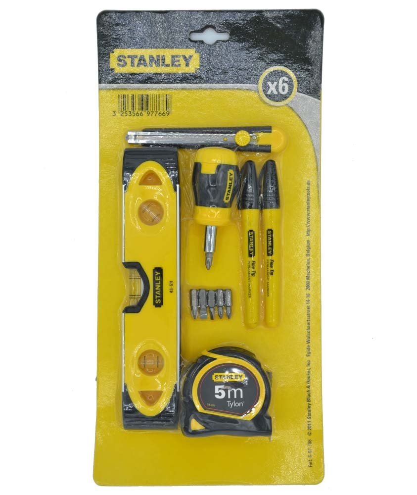 Pack outillage STANLEY 6-97-766