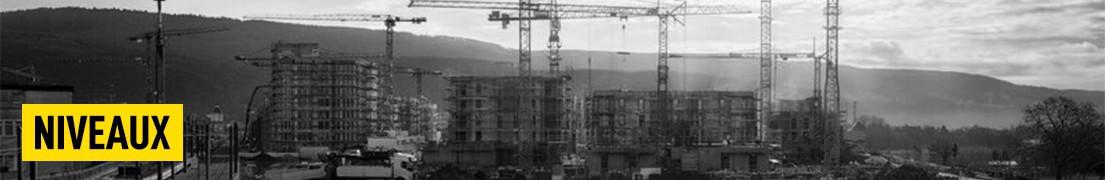 Niveaux de chantier